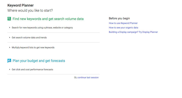 Access to a keyword tool is important. Here are 10 alternatives to Google's Keyword Planner for finding keyword ideas and search volume predictions.  Source: 10 Keyword Tools You Need to Know   SEJ  - http://bit.ly/2epQXZM