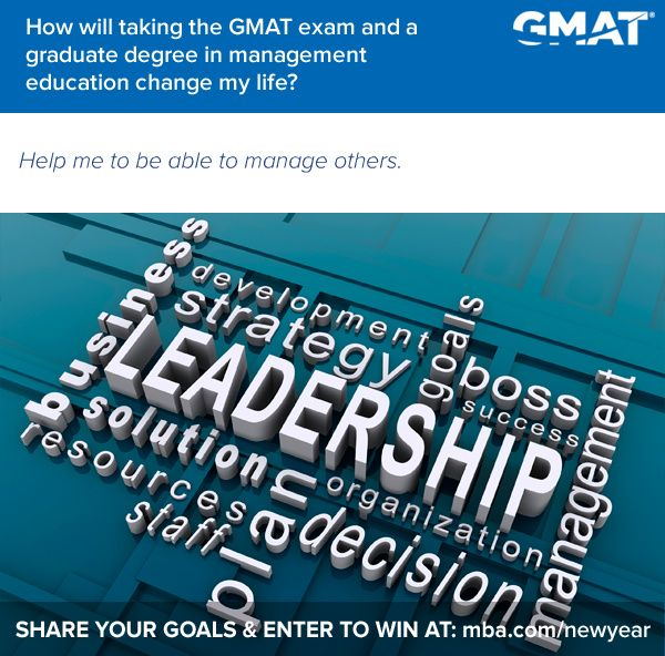 Tell Us About Your Future Plans for a Chance to Win a Free GMAT Exam Registration and GMAT Study Materials! http://mba.com/newyear