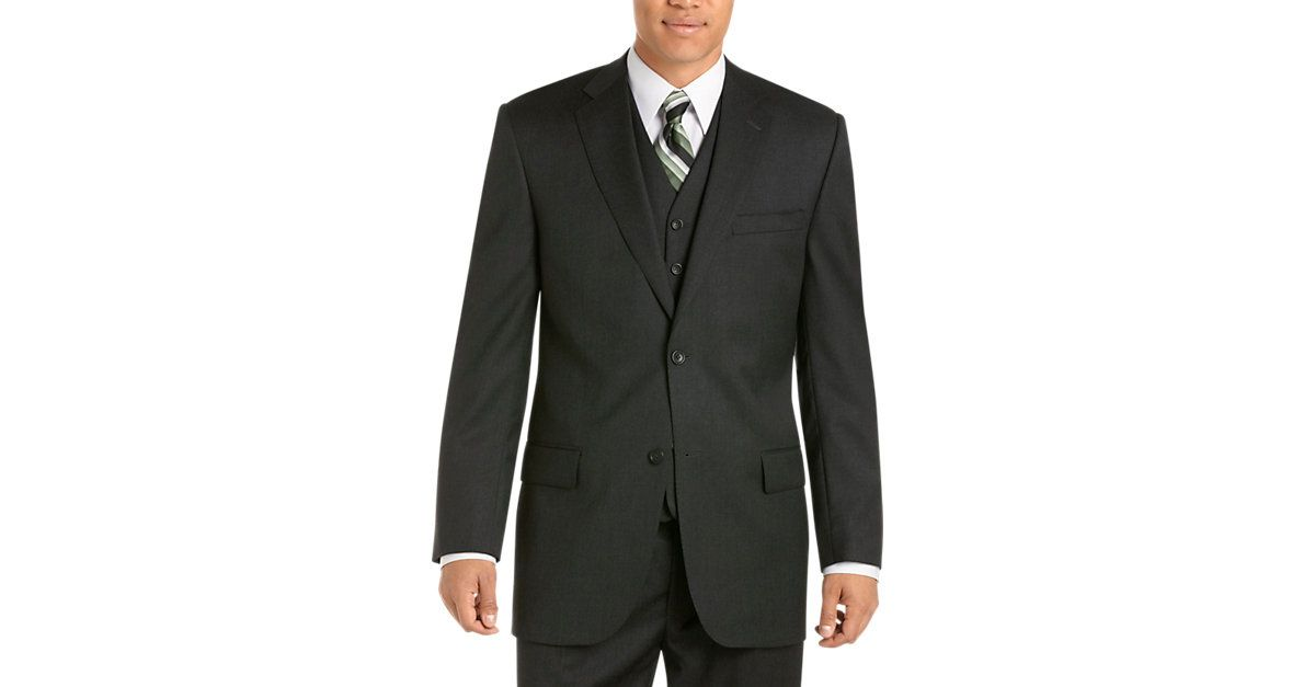 Joseph & Feiss Gold Vested Classic Fit Suit,Charcoal ...