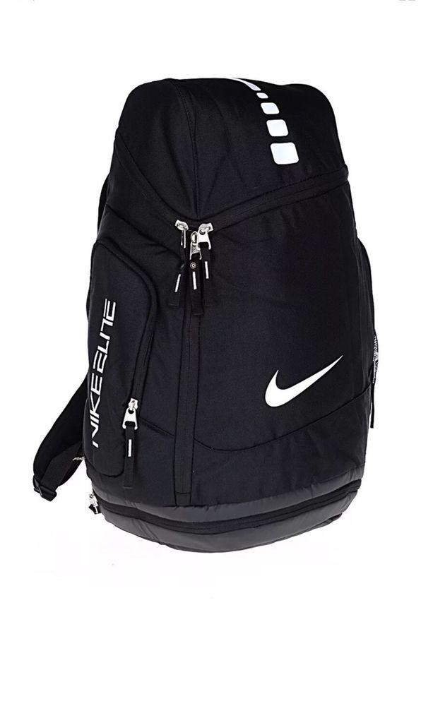 e2d5b1c1bcc0 NIKE HOOPS ELITE MAX AIR BACKPACK BA4880 001 BLACK retail  90 BASKETBALL   NIKE  Backpack