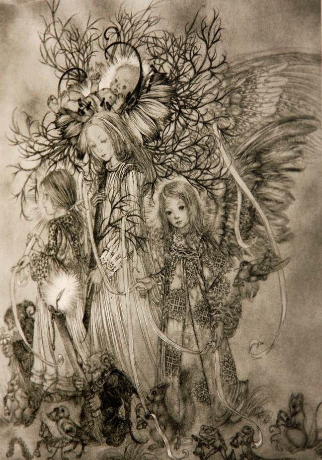 exrare sulamith wulfing angels 1946 wonderfulhardback