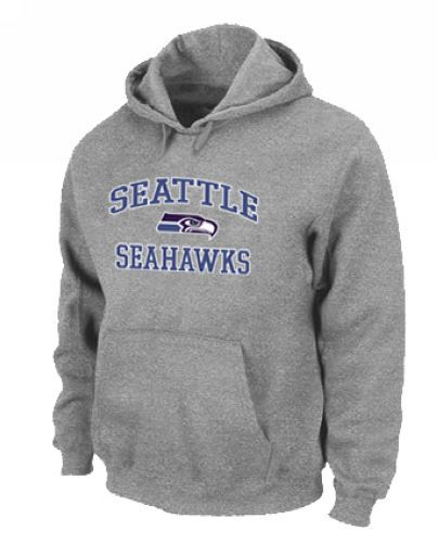 Seattle Seahawks Heart & Soul Pullover Hoodie Grey | Nike NFL  for cheap