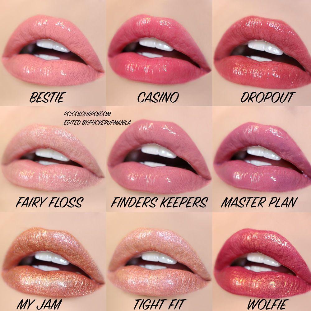 Colourpop Ultra Glossy Shimmer Makeup Colourpop Lipstick