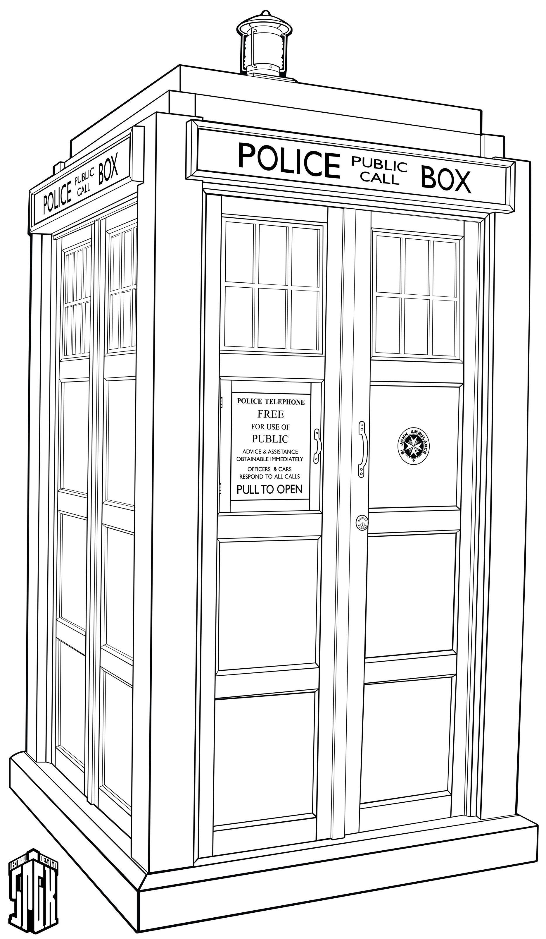 Doctor Who Tardis Ex B W V 2 By Spgk Doctor Who Art Tardis Art Doctor Who Fan Art