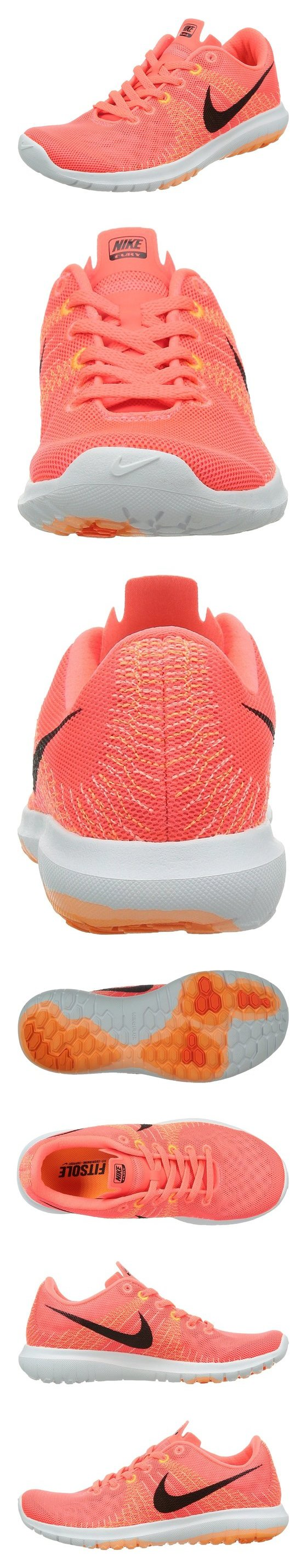 ca1435dadd95  64.13 - Nike Women s Flex Fury Running Shoe Hot Lava Sunset Glow Bright  Citrus Black  nike