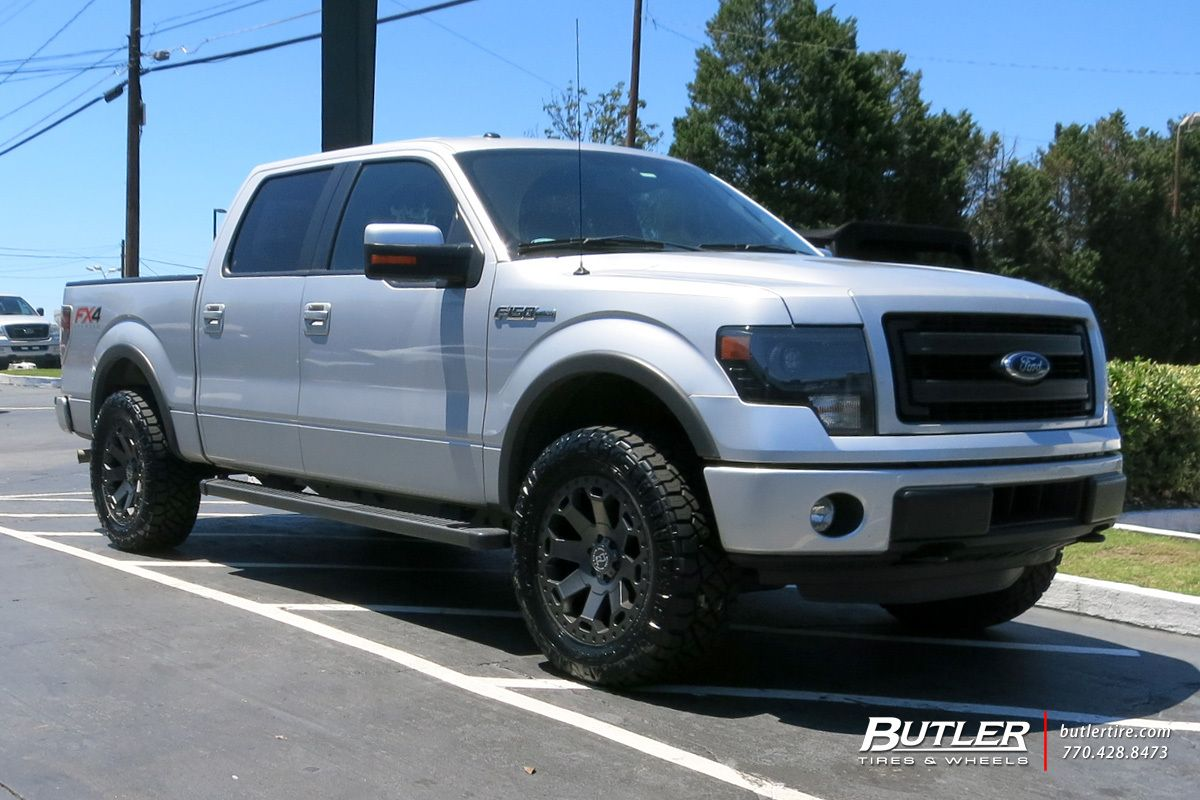Ford F150 With 20in Black Rhino Warlord Wheels Classic Car