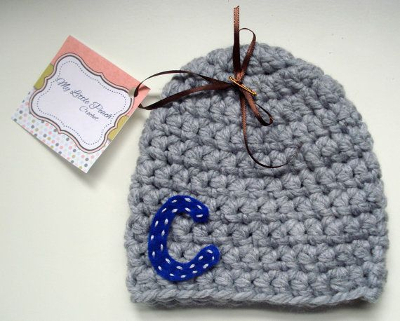 personalized baby gift  personalized baby by MyLittlePeachCrochet