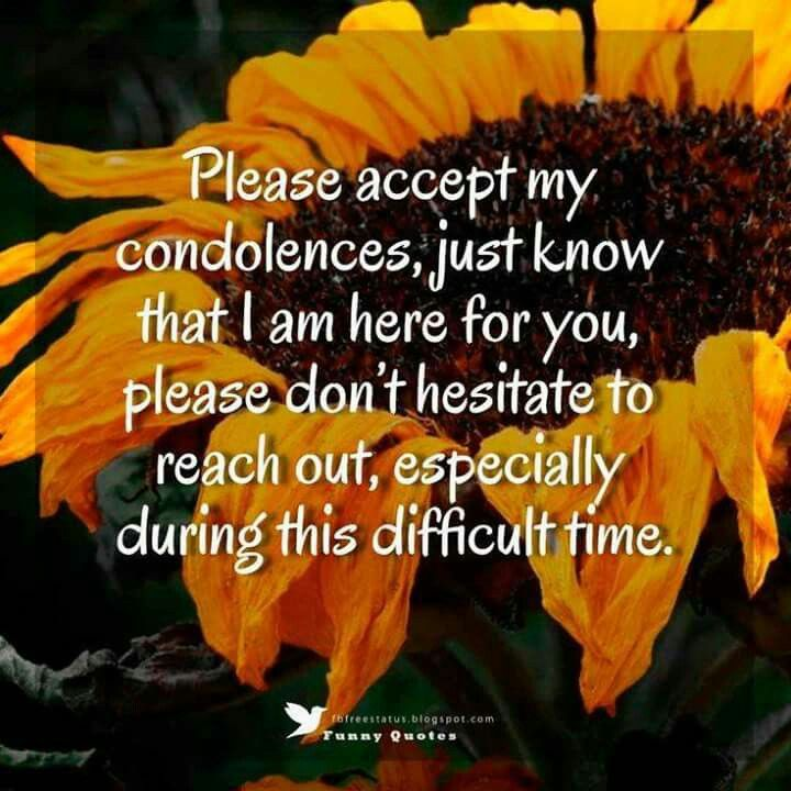 My Condolences Quotes Pindonna Stephens On Sympathy  Pinterest