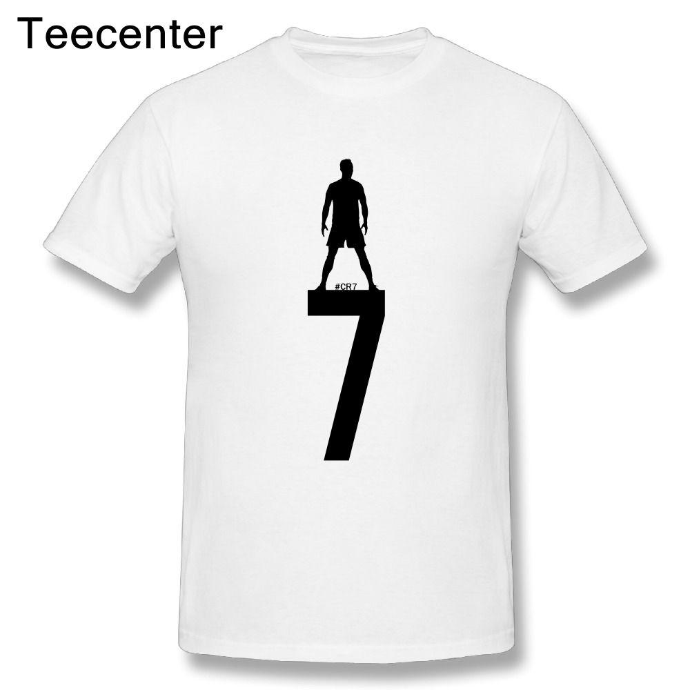 رخيصة عارضة رجل كريستيانو رونالدو Cr7 T قميص القطن الخالص الرجال كبيرة تصميم قصيرة الأكمام حجم كبير تي شيرت يبيع الجودة القم Men Casual Mens Tops Mens Tshirts