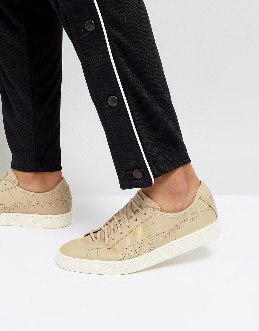 Select Basket Classic Soft Sneakers In Beige 36382405 ...