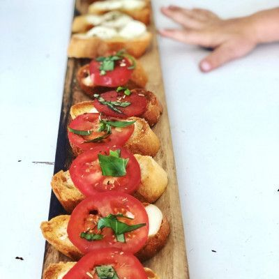 Tomato Bruschetta that is easy and quick to make! - Karins Kottage