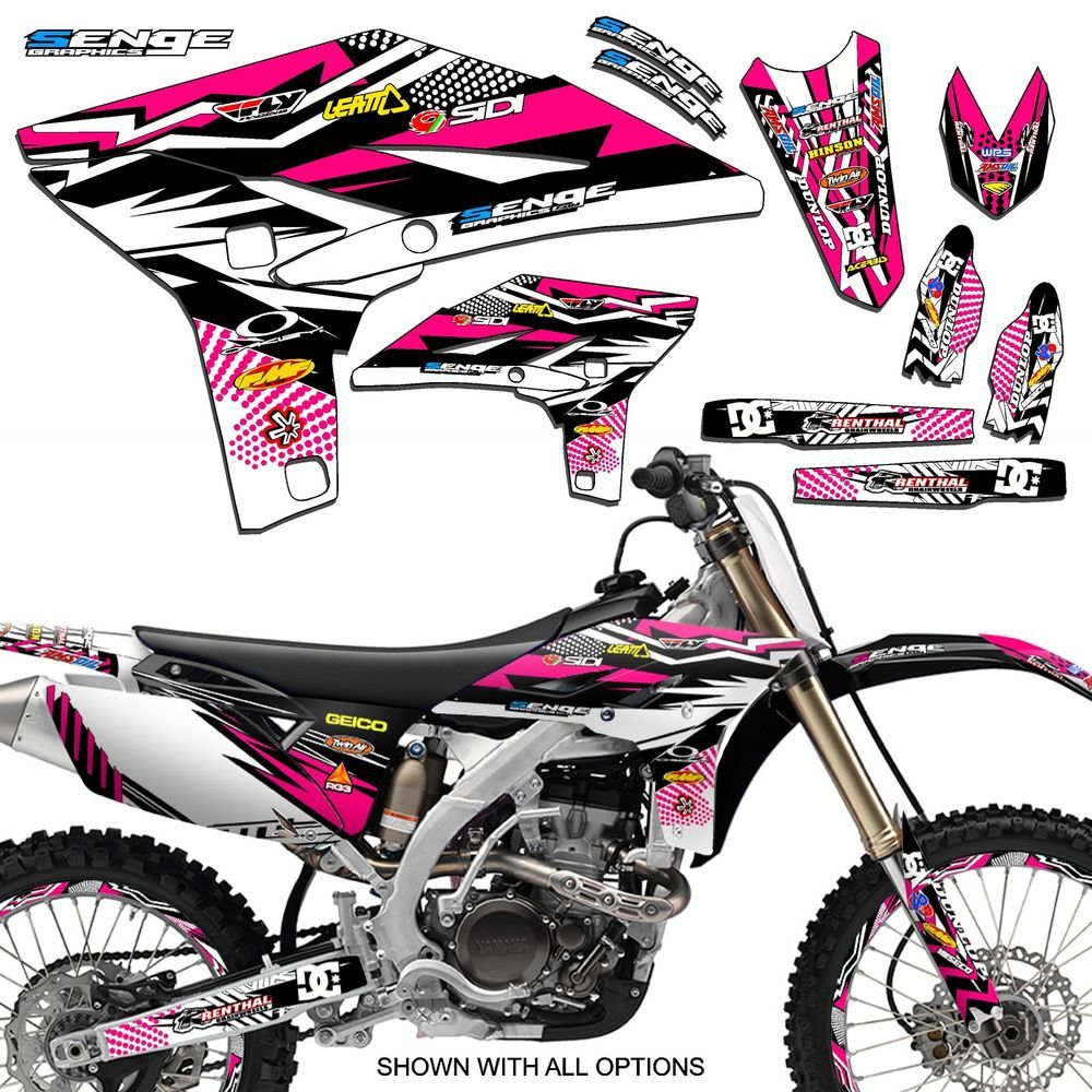 2008 2009 2010 2011 2012 2013 2014 ttr 125 graphics yamaha ttr125 deco decals