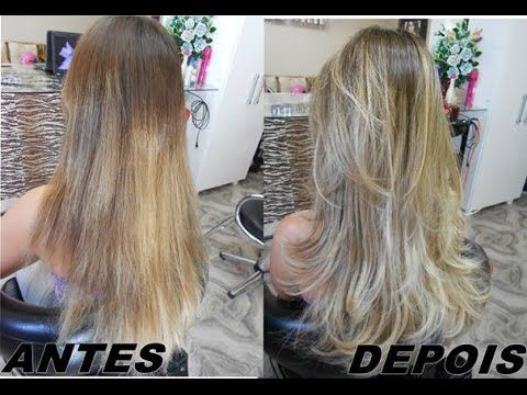 Mechas Ombré Hair na Touca Por Meire Regina YouTube