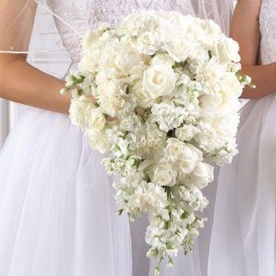 Bouquet A Goccia Sposa.Bouquet A Goccia Bouquet Da Sposa Inverno Fiori Nuziali