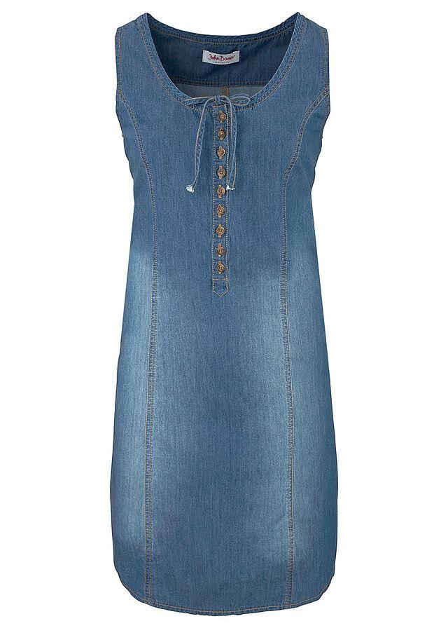 84726f52a312 Džínsové šaty v strihu do A Džísové • 22.99 € • bonprix