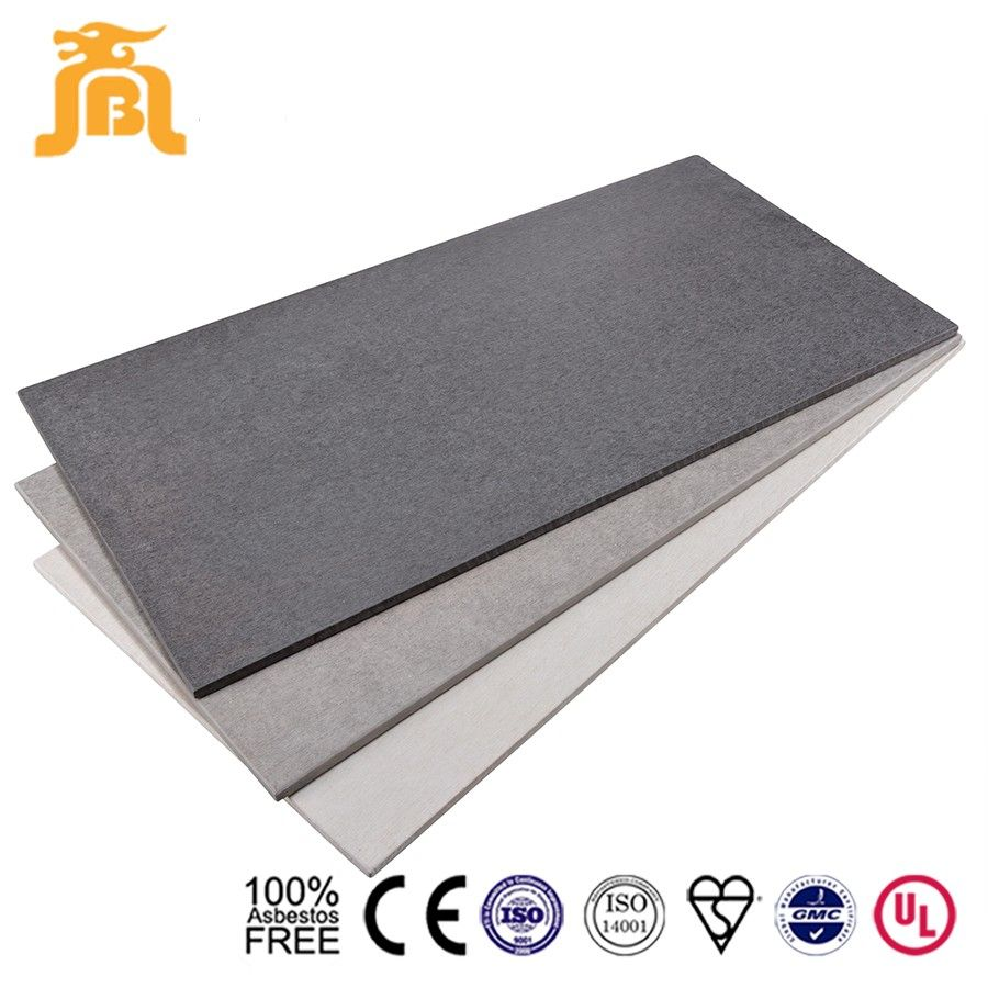 Fiber Cement Products : Commercial building exterior wall cladding colour fiber