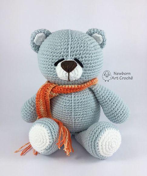Urso de Crochê amigurumi - Artigos infantis - Interlagos, Caxias ... | 580x485