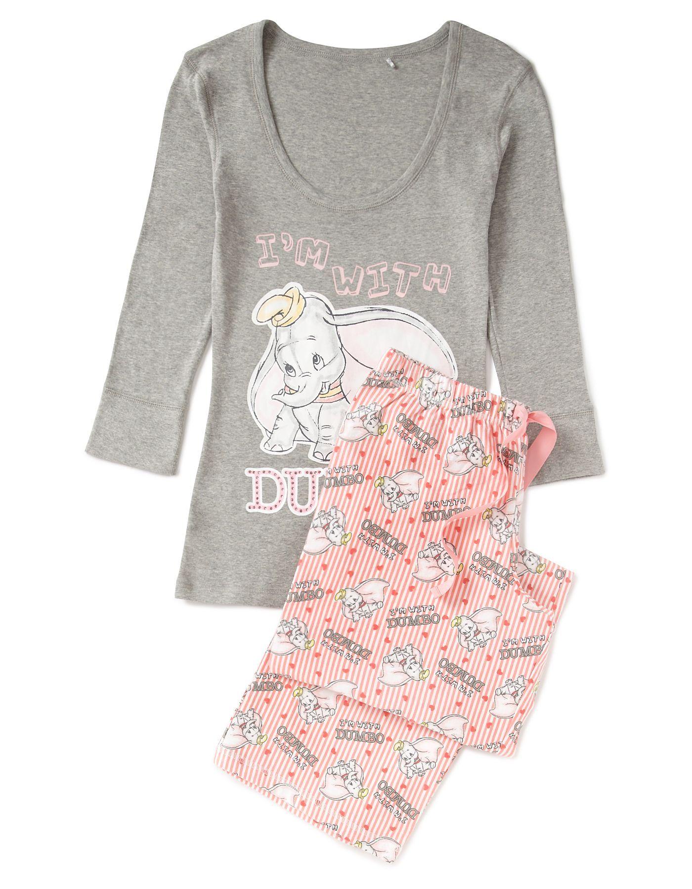 a0ce96081 Dumbo Pyjama Set