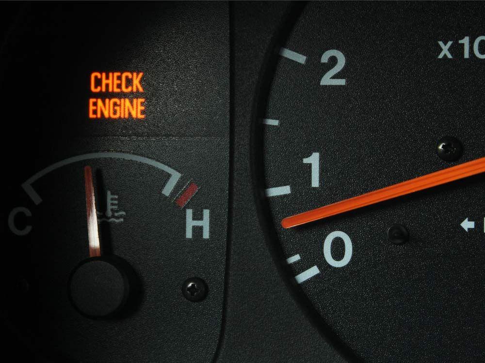 Check engine light engine overheat Auto repair, Car