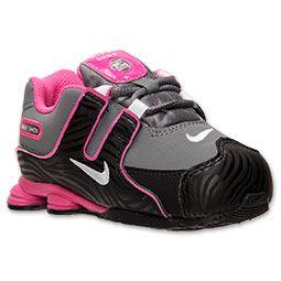 Girls' Toddler Nike Shox NZ Running Shoes