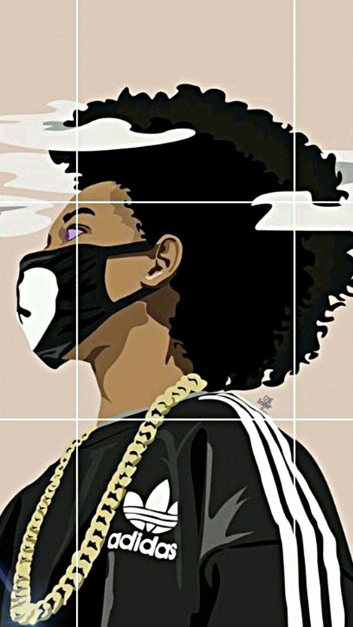 Pin by samara daniel on ayo and teo art dope art - Supreme boondocks ...