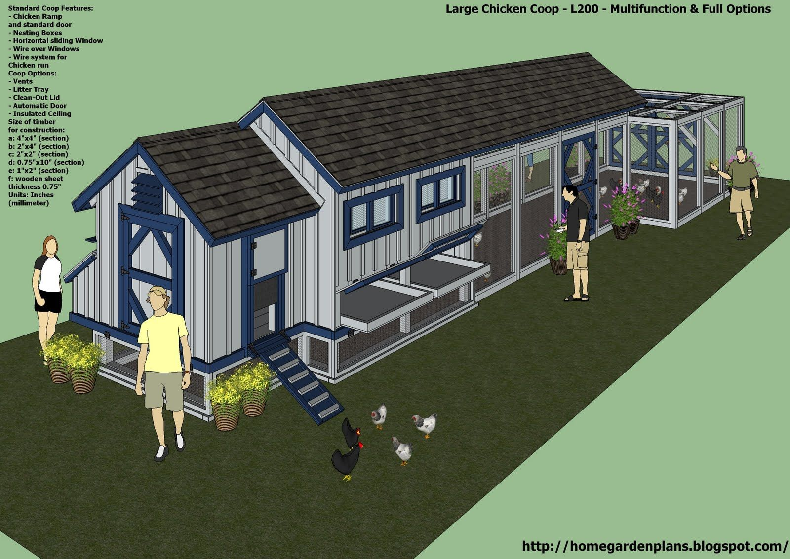 Chicken Coop Design Ideas 15 more awesome chicken coop designs and ideas cool diy homesteading projects by pioneer settler Home Garden Plans L200 Large Chicken Coop Plans How To Build A Chicken