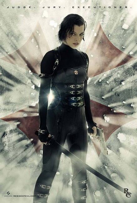 9 99 Aud 16 Resident Evil Retribution 2012 Movie 24 X36 Poster
