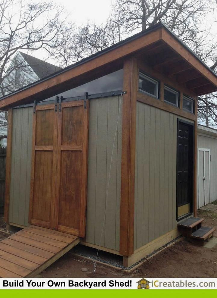 Cheap modern shed projects for the artist in you