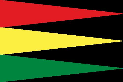 17th Century Ethiopia Flag