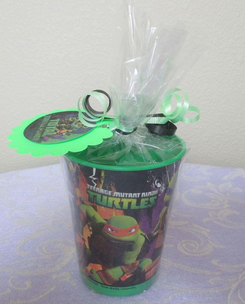 Tmnt Teenage Mutant Ninja Turtle Party Favors Souvenir Cup Goodie Bags Loot Bags Ninja Turtles Birthday Party Teenage Mutant Ninja Turtles Party Favors Mutant Ninja Turtles Party