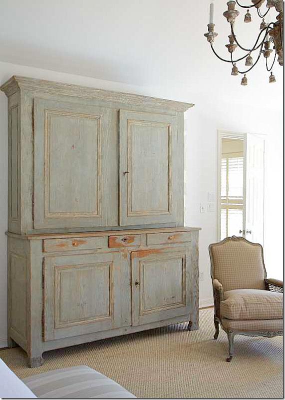 mueble patinado en gris   Muebles patinados   Pinterest   Armoires ...