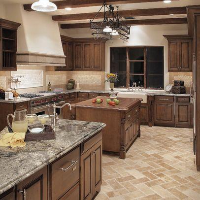 Traditional Kitchen Design Ideas Pictures Remodel And Decor Kitchen Flooring Traditional Kitchen Design Kitchen Floor Tile