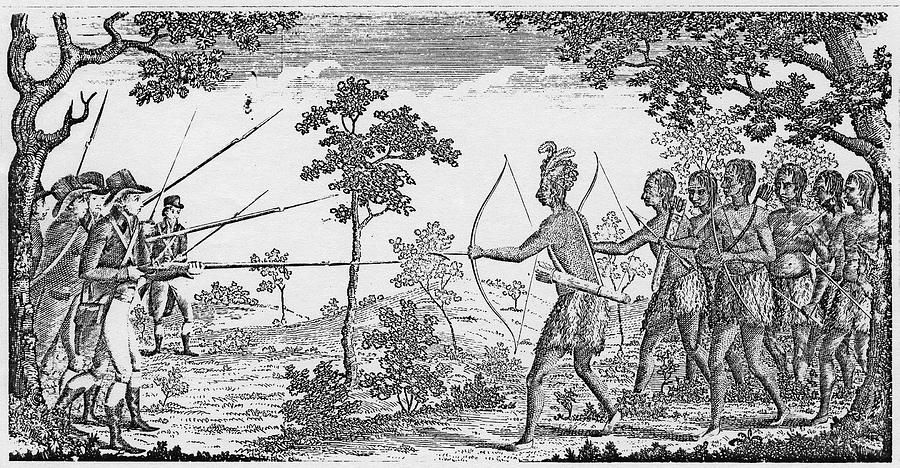 conflict between native americans and colonists