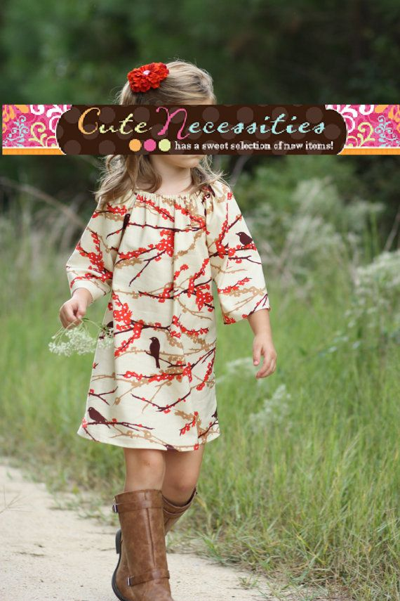 Birds of a Feather Dress by cutenecessities Adorable