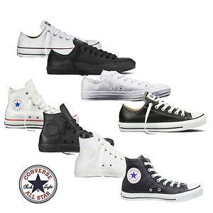 innovative design 45f68 dc975 Converse Chucks Taylor All Star HI/Low Leder Herren Schuhe ...