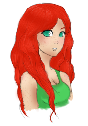 Cartoon pictures of redhead girls