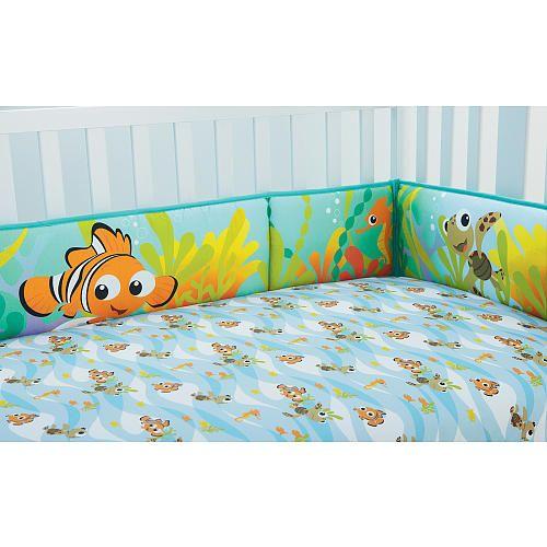 Disney Baby Nemo Secure Me Crib Bumper Disney Babies
