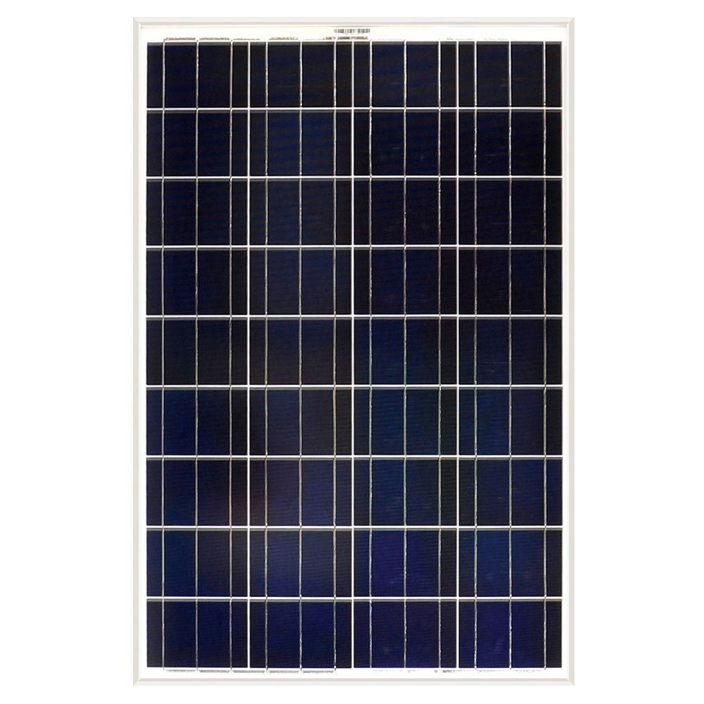 Grape Solar 100 Watt Polycrystalline Solar Panel For Rv S Boats And 12 Volt Systems Gs Star 100w The Home Depot Best Solar Panels Off Grid Solar Panels Solar Panels