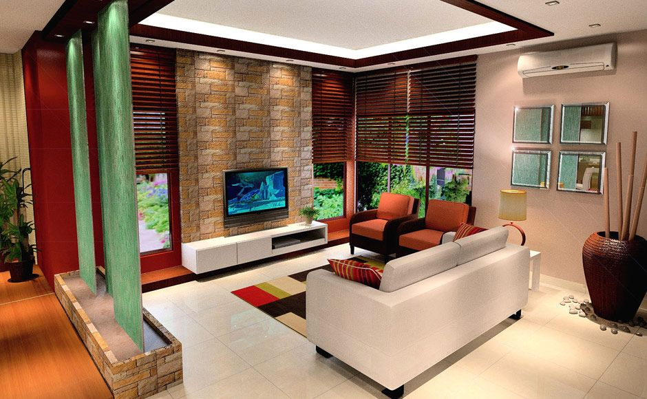 Cool malaysia house interior design home interior design for 3d wallpaper for living room malaysia