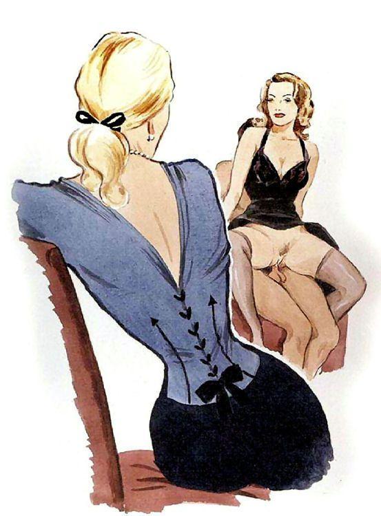 erotic enema prints