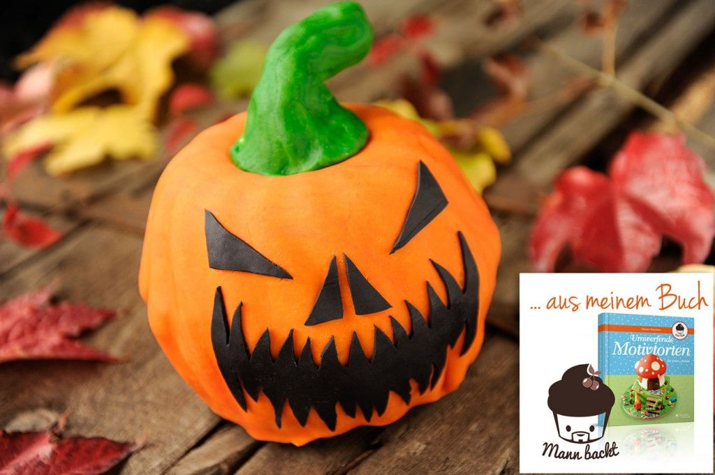 Schritt Fur Schritt Anleitung Halloween Motivtorte Kurbis Mann Backt Motivtorte Halloween Motivtorte Torten