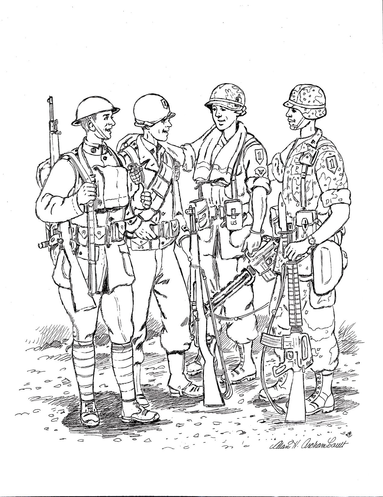 World War 2 Mermaid Coloring Pages Coloring Pages Memorial Day