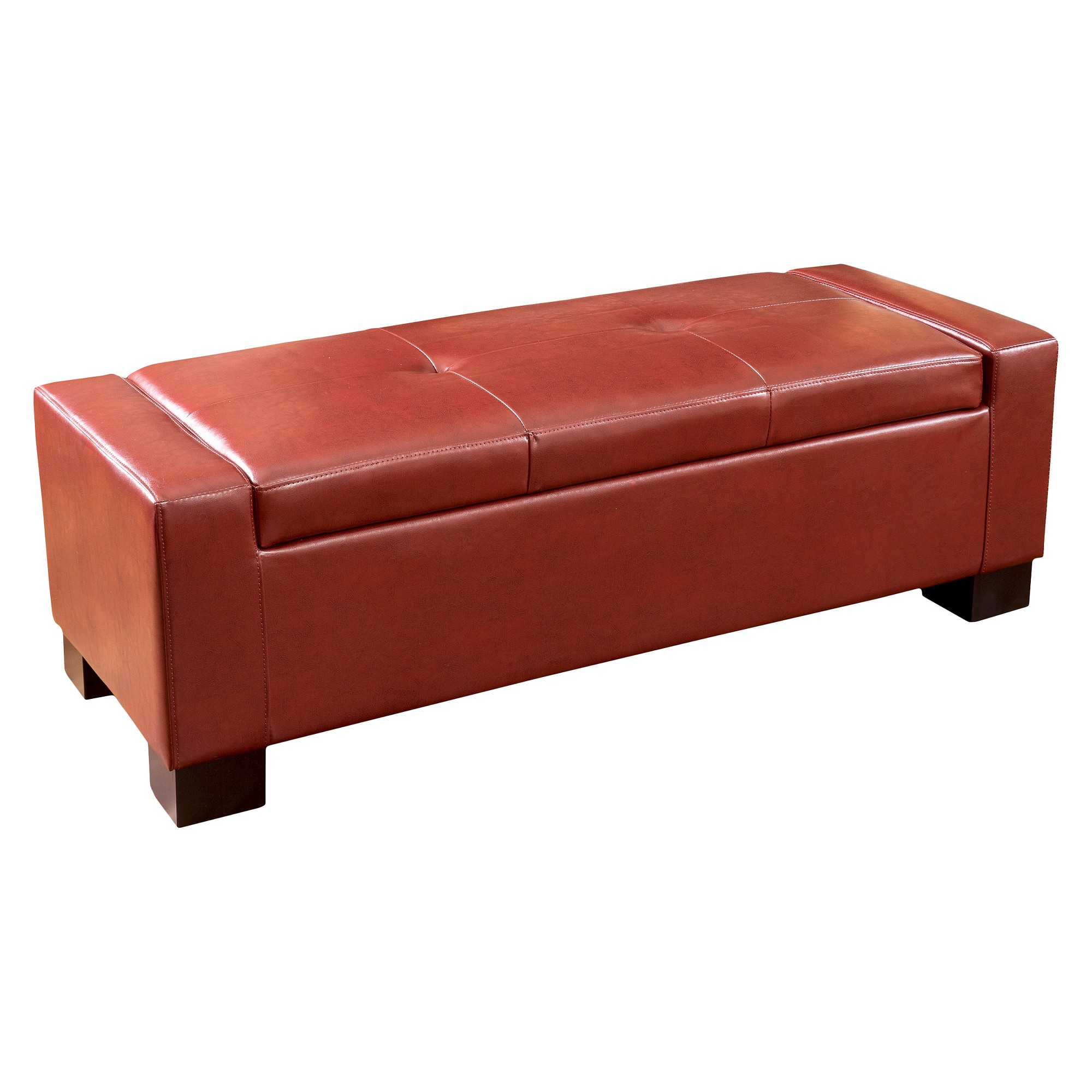Super Robert Storage Ottoman Oxblood Red Christopher Knight Machost Co Dining Chair Design Ideas Machostcouk