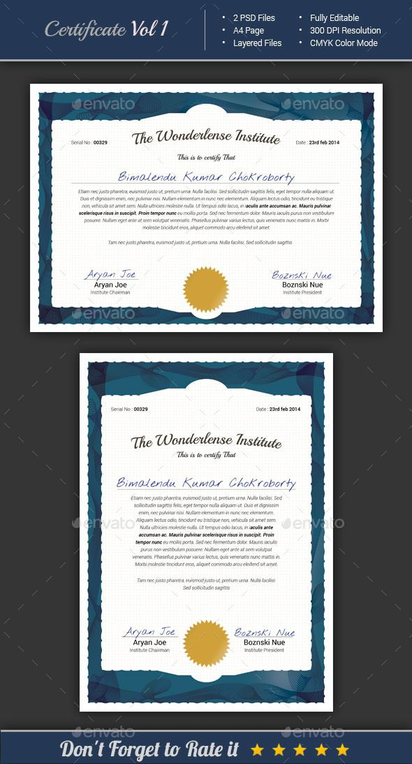 Certificate Template Certificate, Template and Infographic templates - sample training certificate