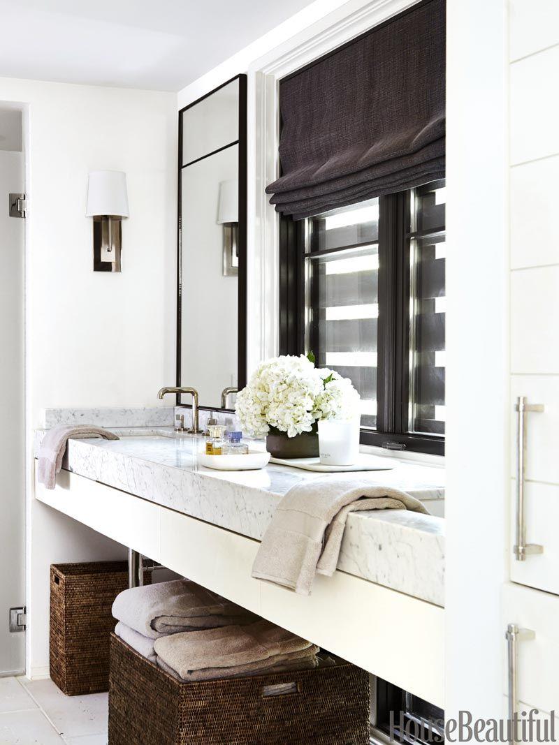 Modern Southern Home Tour in Houston   Pinterest   Modern bathroom ...