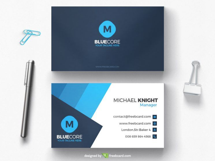 Generic Business Card Template Business Card Design Inspiration Business Card Template Psd Free Business Card Templates Business Card Template