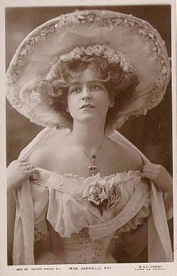 Gabrielle Ray #edwardianperiod
