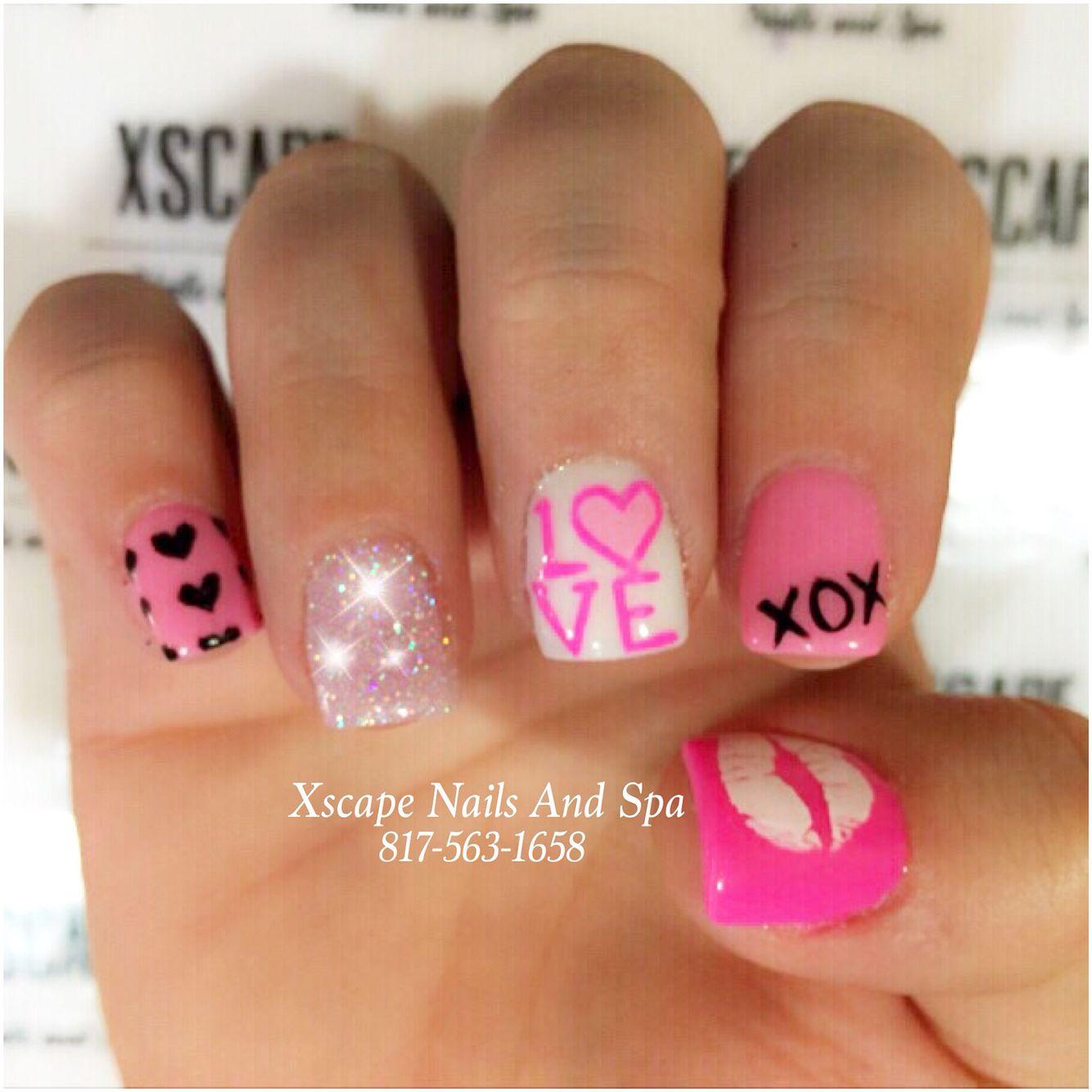 Cute Valentines Nail Designs Cute Nails Designs Pinterest