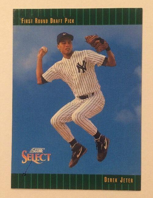 1992 Score Select Derek Jeter Rookie 360 Baseball Card New York
