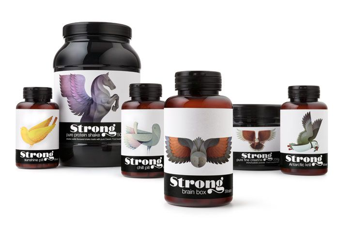 Strong Nutrition Supplements Supplements Packaging Packaging Design Packaging Design Inspiration